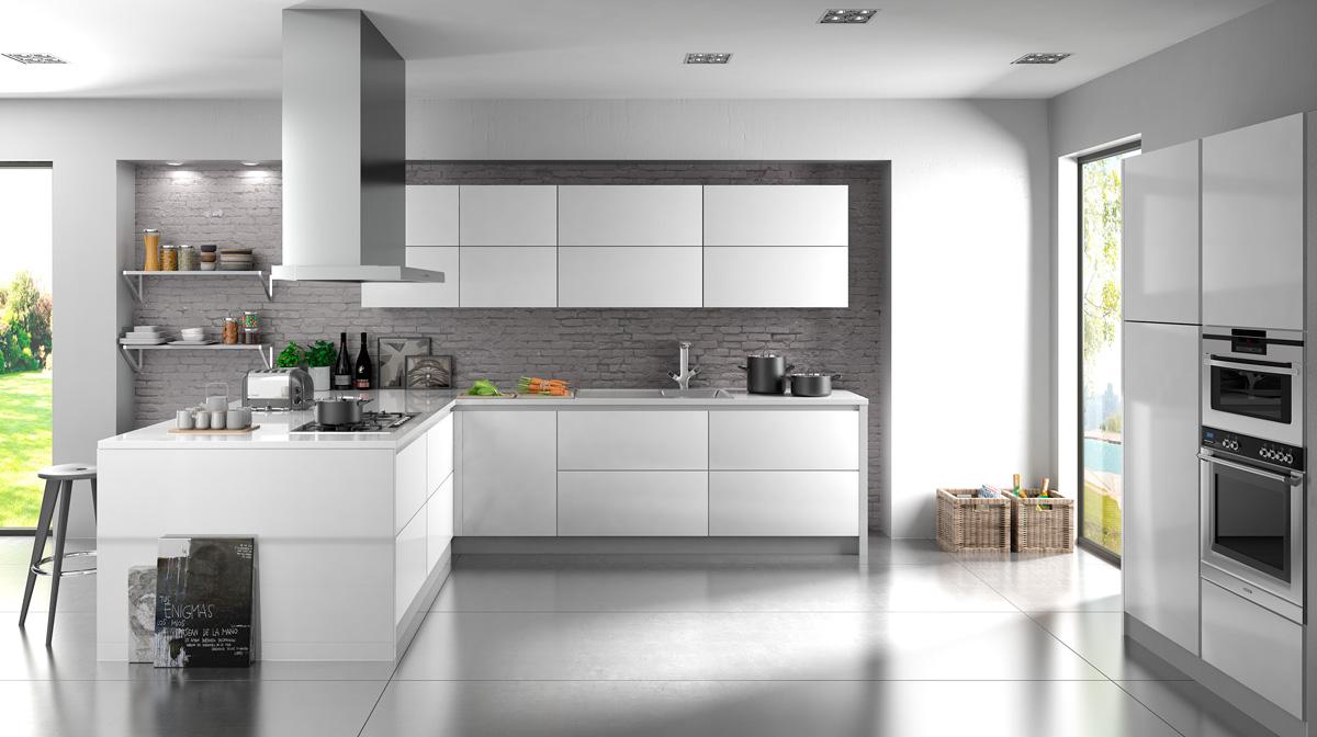 Render 3d de cocinas en valencia castell n alicante - Cocinas en valencia ...