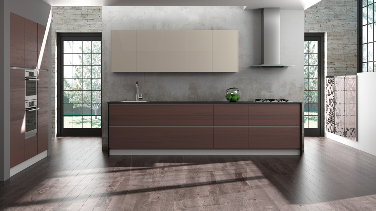 Cocinas modernas valencia fabrihogar crea muebles de for Cocinas modernas valencia