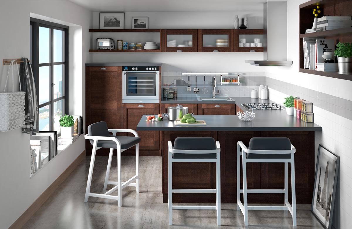 Diseño 3D de cocinas, Valencia - Infografía y Fotografía - AVF Empresas.