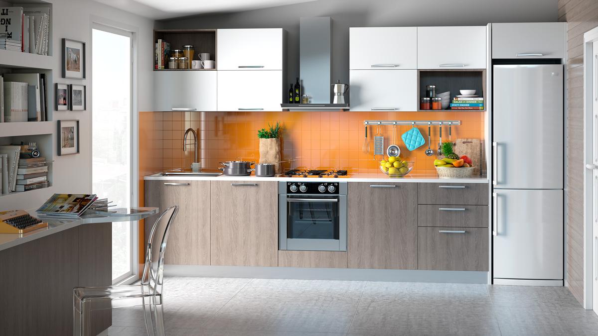 Dise o 3d de cocinas valencia infograf a y fotograf a avf empresas - Diseno cocina 3d ...
