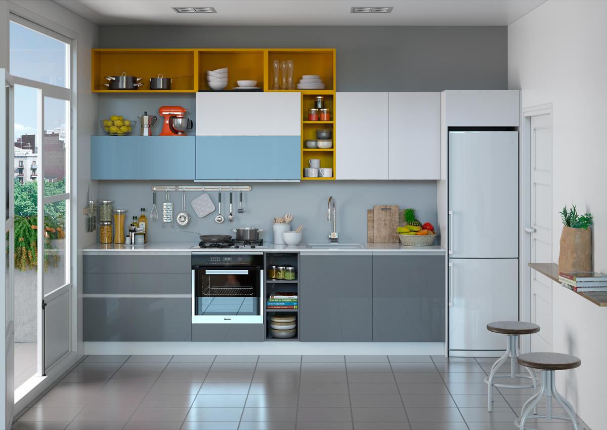Cocinas 3d valencia render 3d fotograf a y cat logos corporativos - Cocinas en valencia ...