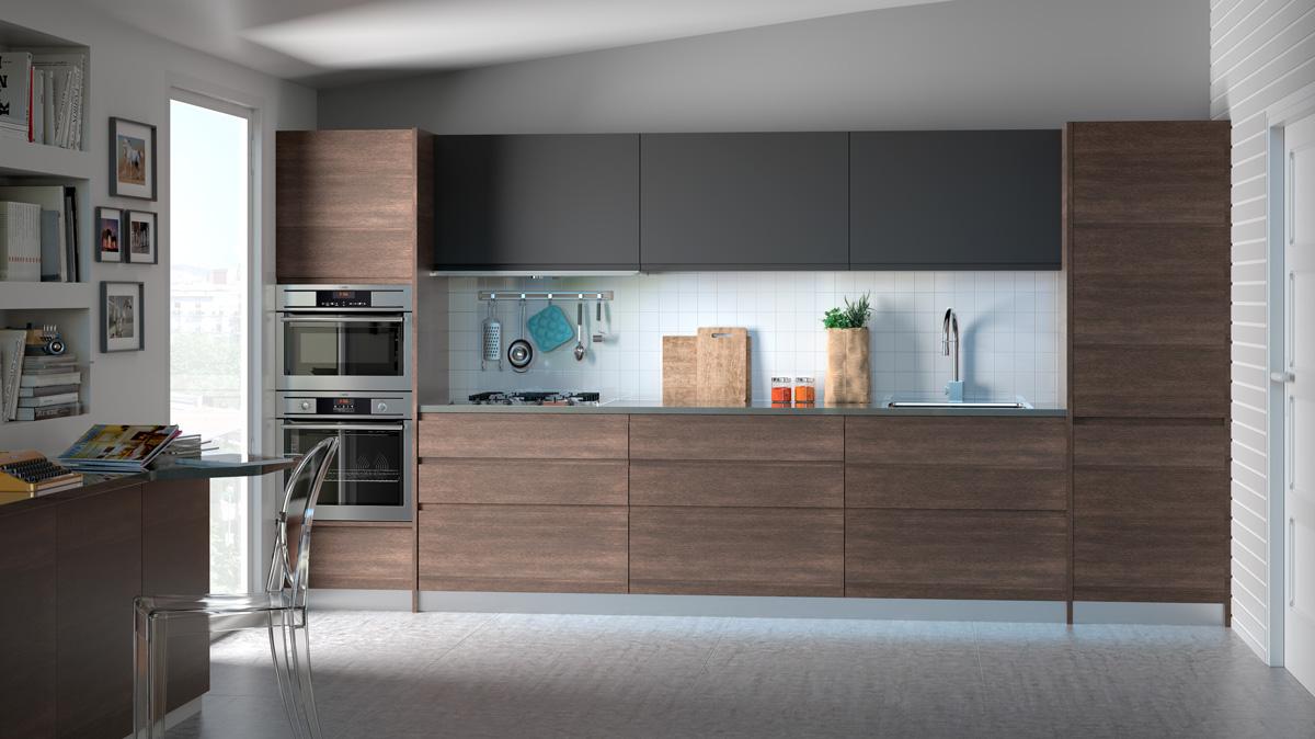 Diseño 3d de cocinas en Castellón. Infografía 3D y Render - AVF